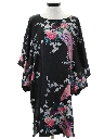 Womens Hippie Hawaiian Inspired Caftan Muu Muu Style Dress
