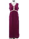 Womens Mod Knit Maxi Dress