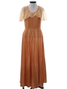 Womens Disco Style Prom or Cocktail Maxi Dress