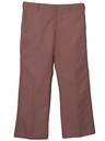 Mens Flared Flat Front Golf Pants