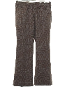 Mens Mod Flared Western Style Print Leisure Pants