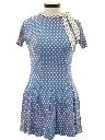 Womens Mod Mini Dress
