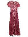 Womens Maxi Cocktail Dress