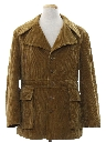 Mens Mod Car Coat Jacket