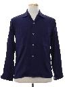 Mens Rayon Gabardine Sport Shirt
