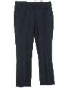 Mens Mod Western Style Flared Leisure Pants