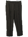 Mens Totally 80s Swing Style Pleated Pants