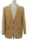 Mens Corduroy Blazer Sport Coat Jacket