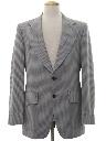 Mens Mod Western Blazer Sport Coat Jacket