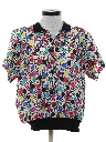 Womens Totally 80s Print Shirt