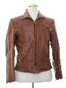 Mens Western Style Leather Jacket
