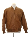 Mens Totally 80s Cafe Racer Style Leather Jacket