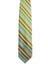 Mens Wide Diagonal Striped Necktie