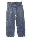 Womens Totally 80s Tapered Leg Stone Washed Denim Jeans Pants