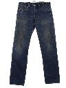 Mens Levis 501 Grunge Denim Jeans Pants