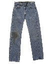 Mens Grunge Levis 501 Denim Jeans Pants