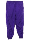 Unisex Totally 80s Style Baggy Track Pants
