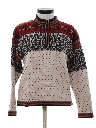 Womens Wool Ski Sweater