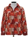 Womens Hippie Knit Leisure Shirt Jacket