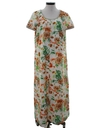 Womens Mod Cocktail Maxi Dress