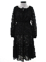 Womens Sheer knit Dress