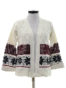 Womens Hippie Snowflake Sweater
