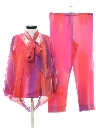 Womens Designer Hippie Pant Suit