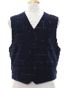 Mens Totally 80s Preppy Wool Vest