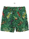 Mens Print Baggy Style Shorts