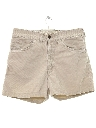 Mens BIG E Levis Corduroy Shorts