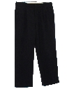 Mens Pleated Slacks Pants