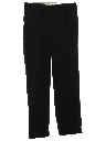 Mens Wool Rockabilly Slacks Pants