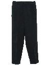 Mens Mod Flat Front Slacks Pants