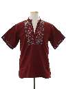 Mens Dashiki Style Hippie Shirt