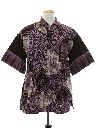 Mens Ethnic Hippie Shirt