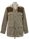 Mens Safari Hunting Shirt Jacket