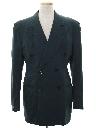 Mens 40s Swing Style Blazer Sportcoat Jacket