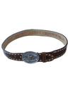 Mens Accessories - Leather Western Belt