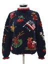 Womens Cheesy Kitchy Ugly Sweater