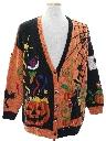 Unisex Cardigan Ugly Halloween Sweater