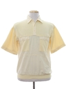 Mens Resort Wear Style Golf Shirt
