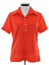 Womens Knit Golf Shirt