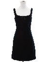 Womens Designer Mini Wiggle Velvet Prom or Cocktail Dress