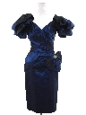 Womens Totally 80s Wiggle Prom Or Cocktail Dress