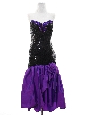Womens Totally 80s Asymmetrical Prom Or Cocktail Dress