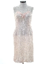 Womens Lace Pretty in Pink Prom Or Cocktail Dress
