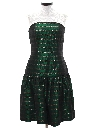 Womens Totally 80s Prom Or Cocktail Dress Style Jumpsuit