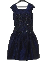 Womens/Girls Designer Totally 80s Sequined Prom Or Cocktail Dress