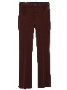 Mens Flared Jeans-Cut Western Pants