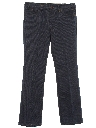 Mens Flared Jeans-cut Pants